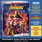 ENH - AVENGERS INFINITY WAR DVD Giveaway