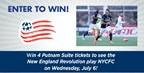Enter to Win Tickets to the New England Revolution