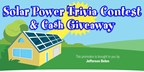 Solar Power Trivia Contest and Cash Giveaway! - 2018