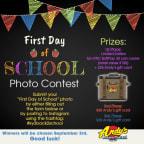 Back to School Photo Contest 2018