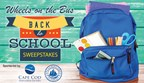 Wheels on the Bus Back to School Sweepstakes