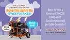 The Hartmann Electrical's Keep the Lights On in Stormy Weather Sweepstakes