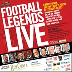 Win tickets to Football Legends Live! Meet Brian Urlacher, Mean Joe Greene and more Hall of Famers!
