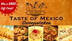 Taste of Mexico Sweepstakes