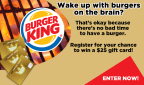 Burger King Giftcard Giveaway