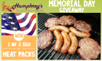 Humphrey's Market Memorial Day Giveaway