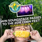 Win FREE soundstage passes to Corn Fest