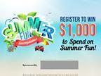 Summer Fun Sweepstakes 2016