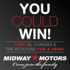Midway Motors Sweepstakes