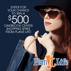 Win a $500 Oakbrook Center gift card from Planit L