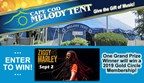 Give the Gift of Music Melody Tent Sweepstakes
