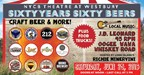 Win VIP Passes for 60 Years 60 Beers