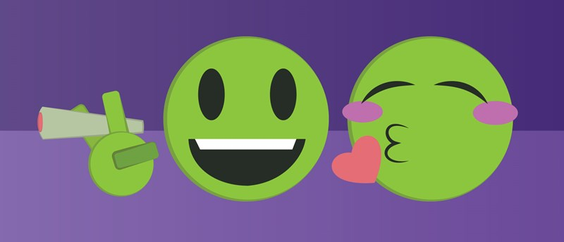 How Well Do You Know Your Pot Emojis?