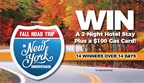 Fall Road Trip in New York Sweepstakes