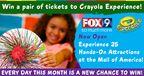 Crayola Experience Ticket Giveaway