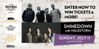 Battery Park - Shinedown with Halestorm Concert Sw