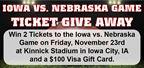 Iowa vs. Nebraska Game