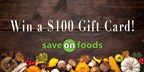 Win $100 towards Thanksgiving