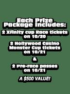 Kansas Speedway Ticket Giveaway