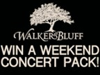 Walker's Bluff Weekend Concert Pack