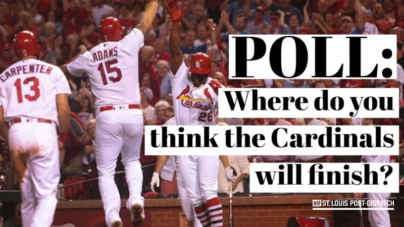 St. Louis Post-Dispatch POLL: Where do you think the Cardinals will finish?
