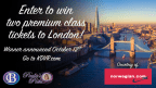 Enter to WIN a Roundtrip Flight for two people from Denver to London! From Norwegian Air!