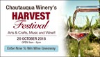 Chautauqua Winery Harvest Festival Giveaway