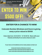 Colorado Rockies Windows & Doors Sweepstakes