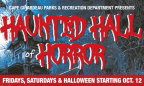 Haunted Hall of Horror 2018 Ticket Giveaway