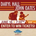 Hall & Oates Bridgeport Arena Tickets 2016