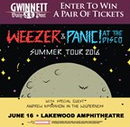 Win tickets to Weezer & Panic at the Disco