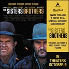 MH - THE SISTERS BROTHERS Screening