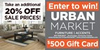 Urban Market's Gift Card Give Away