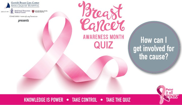 How Should You Get Involved for Breast Cancer Awareness Month? Quiz