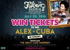 Win 2 Filberg Tix to Alex Cuba