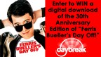 Enter to WIN a digital download of Ferris Bueller'