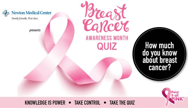 Paint it Pink and Test Your Breast Cancer Knowledge