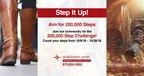 200,000 Step Challenge