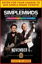 Simple Minds - ticket giveaway!