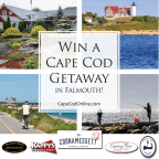 Cape Cod Getaway for Two in Falmouth