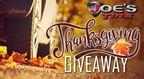 Joe's Tires Thanksgiving Giveaway