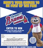 Enter to win 4 (four) great seats to the G-Braves