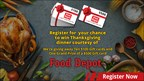 2018 Food Depot Thanksgiving Promotion
