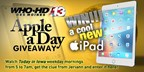 Channel 13's Fall Apple A Day Giveaway
