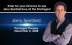 Seinfeld Ticket Giveaway