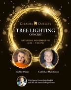 Win a VIP Meet & Greet at Citadel Outlets 17th Annual Tree Lighting Concert