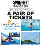 Win tickets to Lanier World