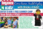 Enter to Win 1 Free Summer Camp from Bricks 4 Kidz