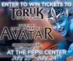 Enter to WIN tickets to Cirque du Soleil: Toruk the First Flight!