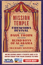 Mission Temple Firework Revival featuring Paul Thorn Giveaway